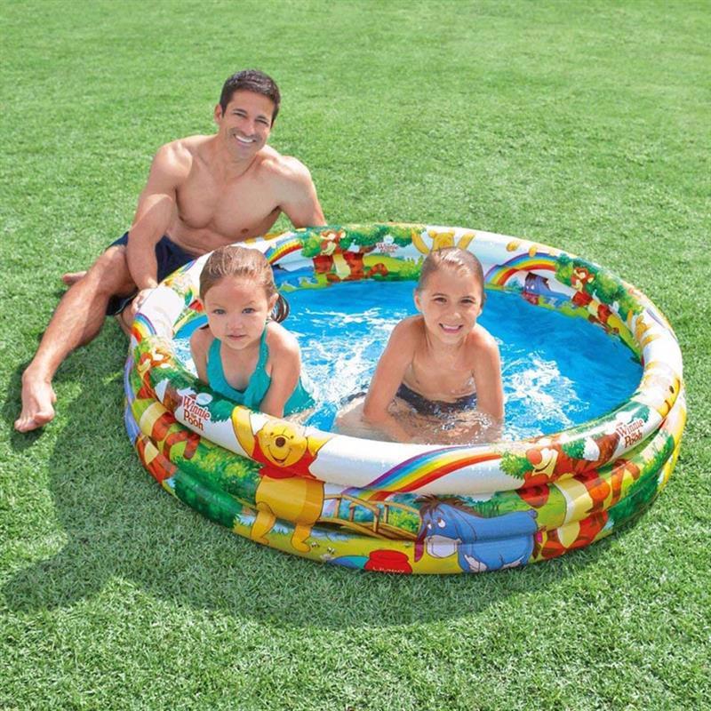 Детский надувной бассейн Intex 58915 (147x33 см) Винни Пух
