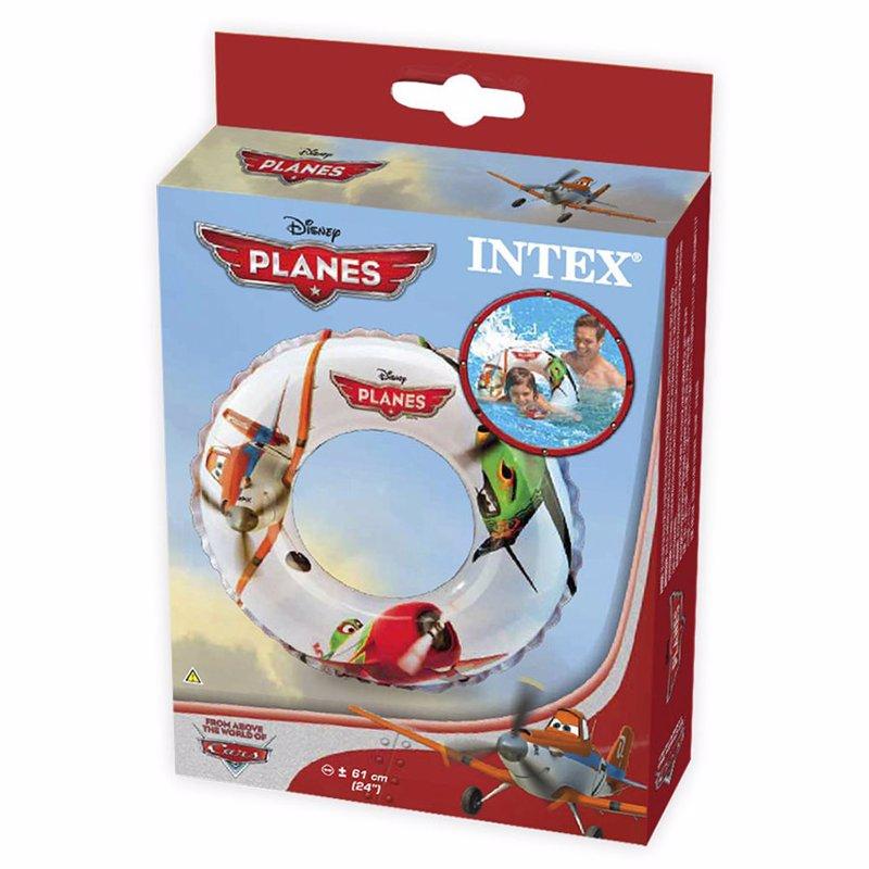 Детский надувной круг Intex 56208 Литачки Planes Swim Ring (61 см)