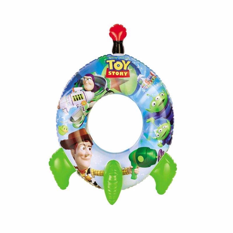 Детский надувной круг Intex 58252 История Игрушек ToY Story Rocket Swim Ring (71x56 см)