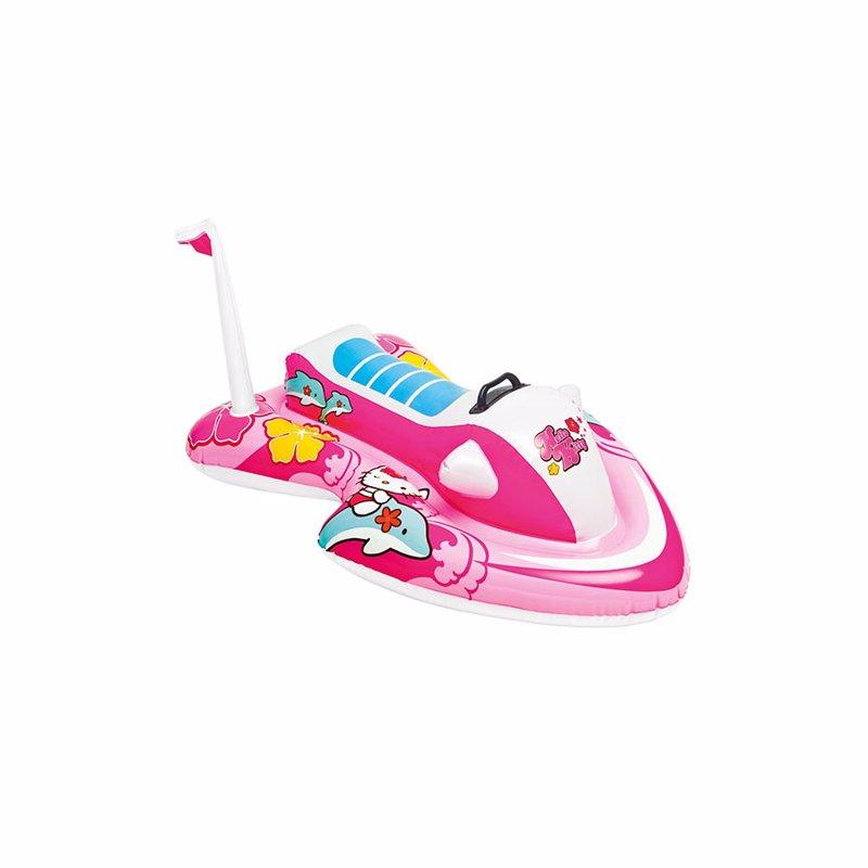 Детский надувной плотик Intex 57522 Hello Kitty (117x77 см) Ride-On