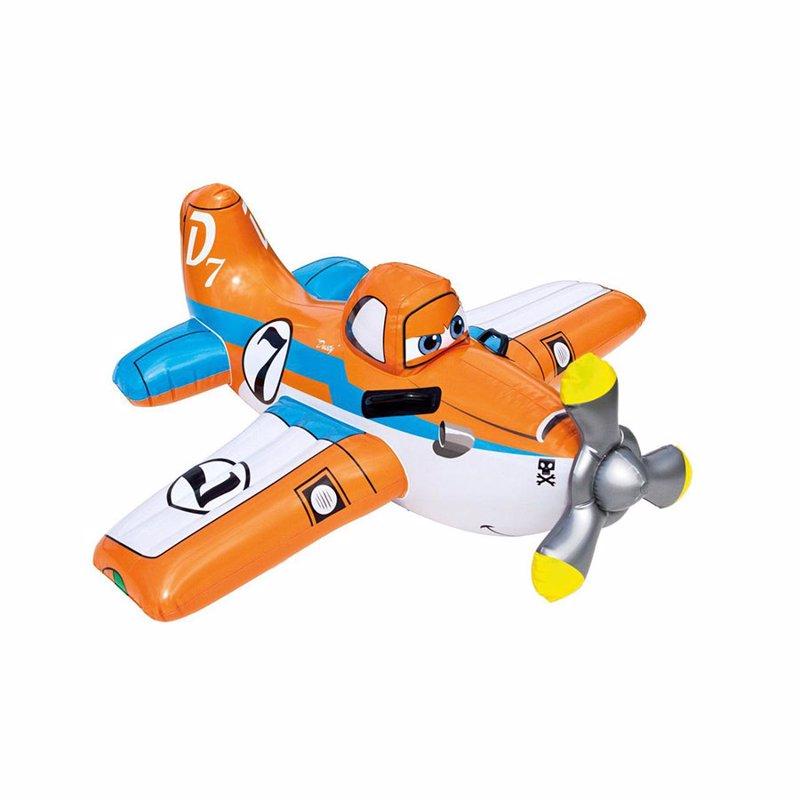 Детский надувной плотик Intex 57532 Литачки (119x119 см) Planes Ride-On