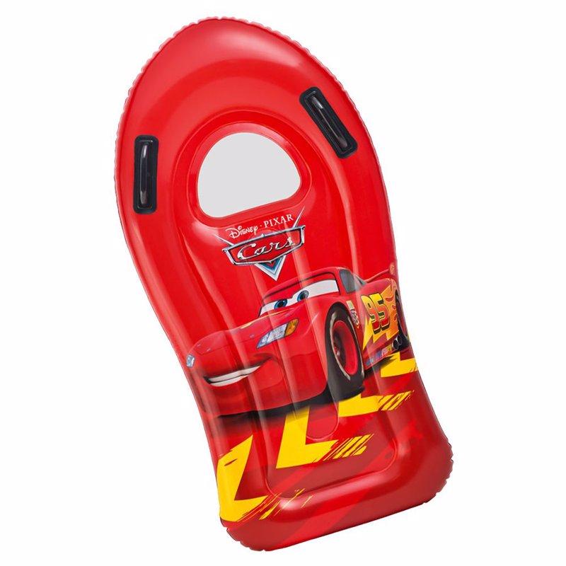 Детский надувной плотик Intex 58161 Тачки (108х57 см) Cars Surf Rider