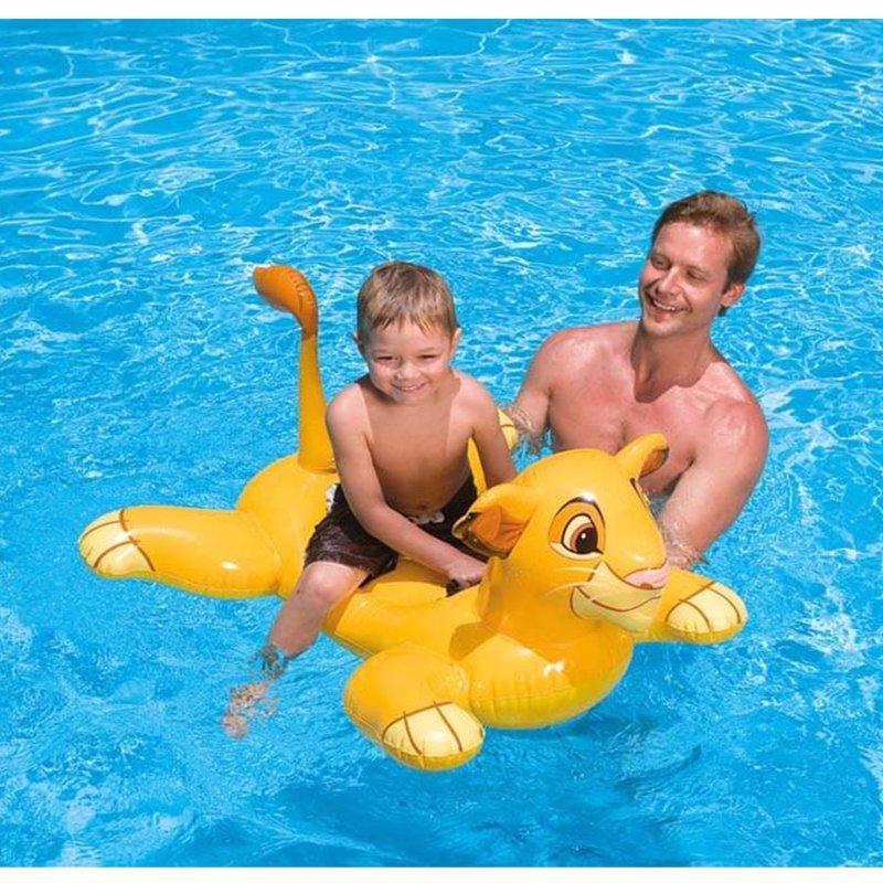 Детский надувной плотик Intex 58520 Король Лев (119x84 см) The Lion King Ride-On