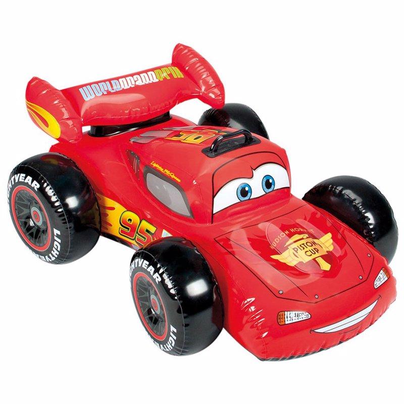 Детский надувной плотик Intex 58576 Тачки (107х71 см) Cars Ride-On