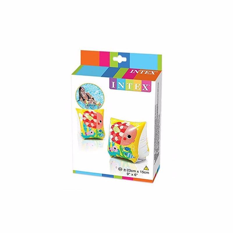 Детские надувные нарукавники Intex 58652 Tropical Buddies Arm Bands (23x15 см)