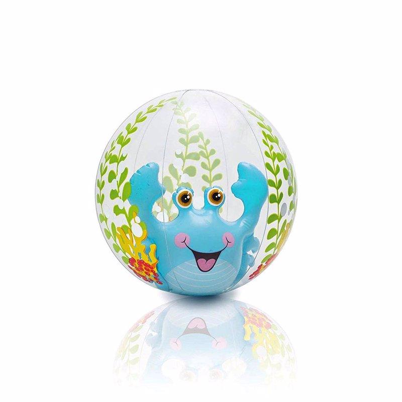 Надувной мяч Intex 58031 (Голубой) Aquarium Beach Balls (61 см)