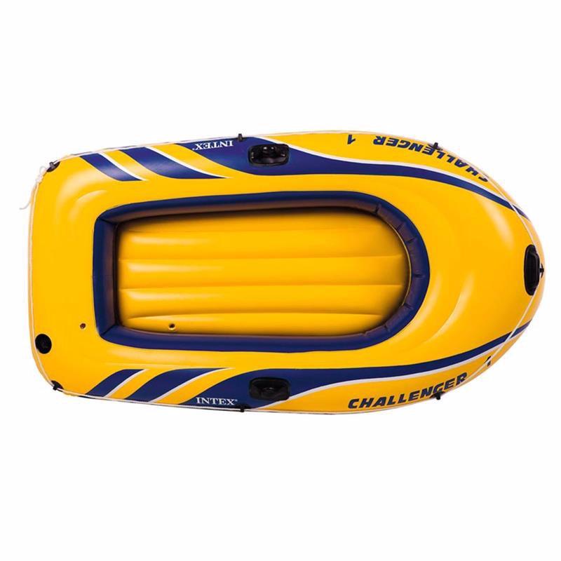 Одноместная надувная лодка Intex 68365 (193x108x38 см) Challenger 1