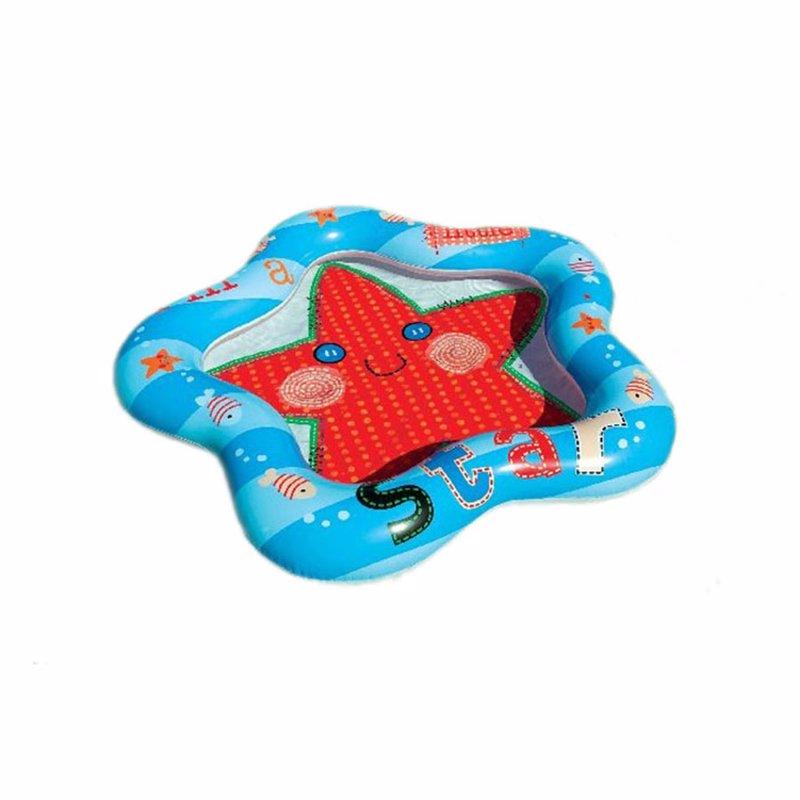Детский надувной бассейн Intex 59405 Lil' Star Baby Pool (102x99x13 см)