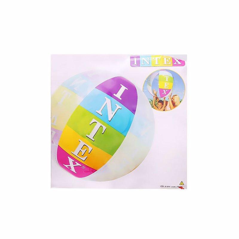 Надувной мяч Intex 59060 Intex Beach Ball (91 см)