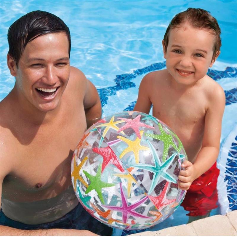 Надувной мяч Intex 59040 (Звездочки) Lively Print Balls (51 см)