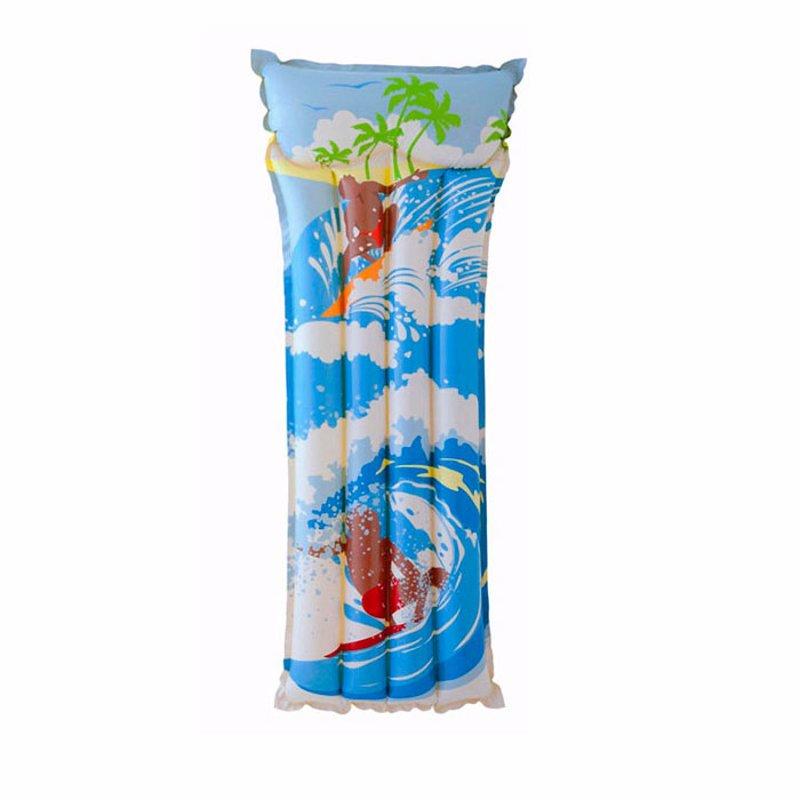Пляжный надувной матрас для плавания Intex 58715 (С серфингистом) (183х76 см)