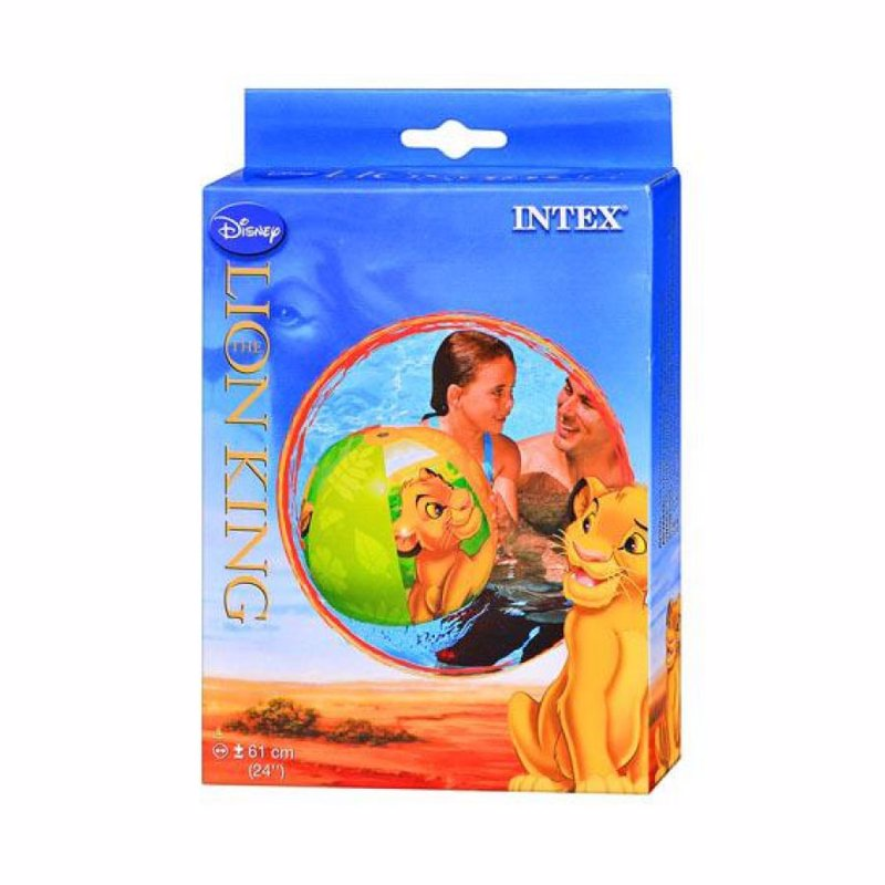 Надувной мяч Intex 58052 Король Лев The Lion King Beach Ball (61 см)