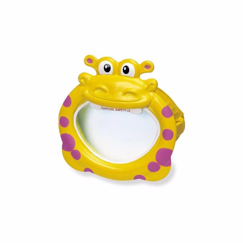 Детская маска для плавания Intex 55910 (Желтый) Fun Masks
