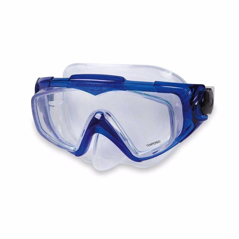 Маска для плавания Intex 55981 (Синий) Silicone Aqua Pro Masks
