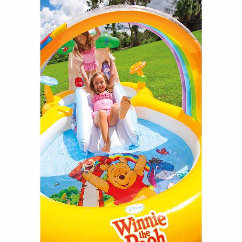 Водный надувной игровой центр Intex 57136 (282 x 173 x 107 см) Винни Пух