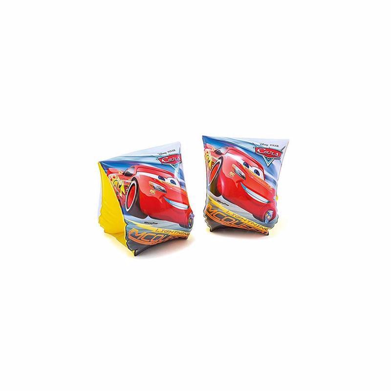 Детские надувные нарукавники Intex 56652 Тачки Cars Deluxe Arm Bands (23х15 см)
