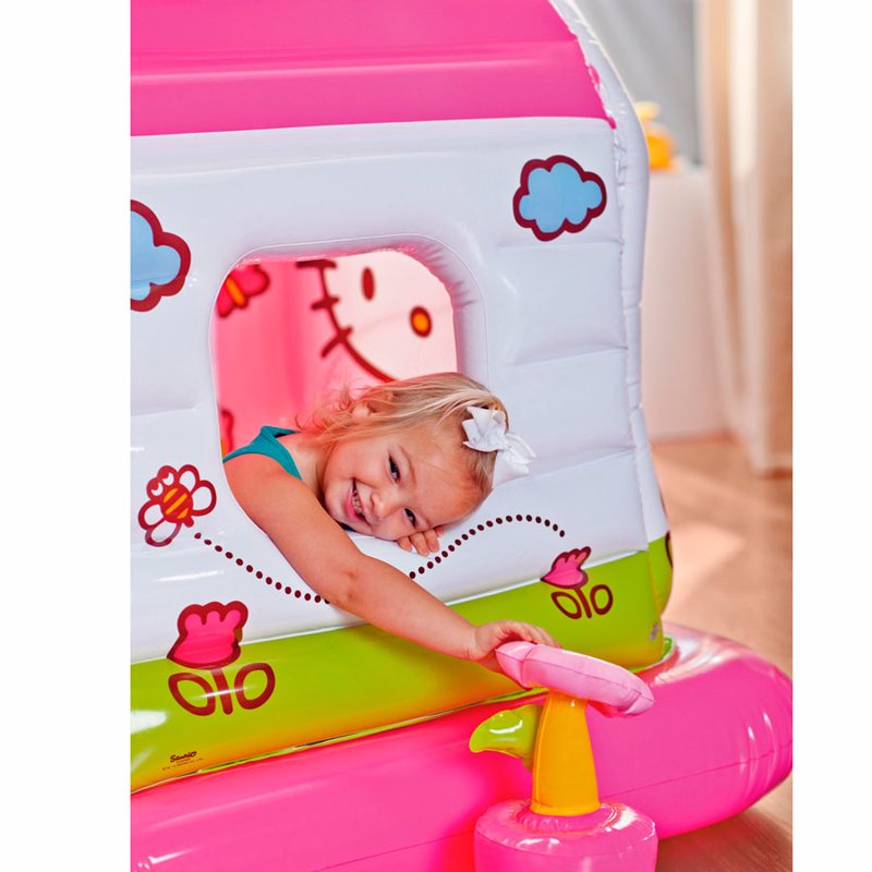 Надувной игровой центр-домик Intex 48631 (137 x 109 x 122 см) Hello Kitty
