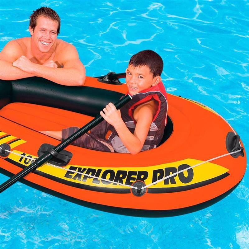 Одноместная надувная лодка Intex 58355 (160х94х29 см) Explorer Pro 100