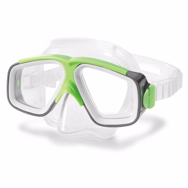 Маска для плавания Intex 55975 (Зеленый) Surf Rider Masks
