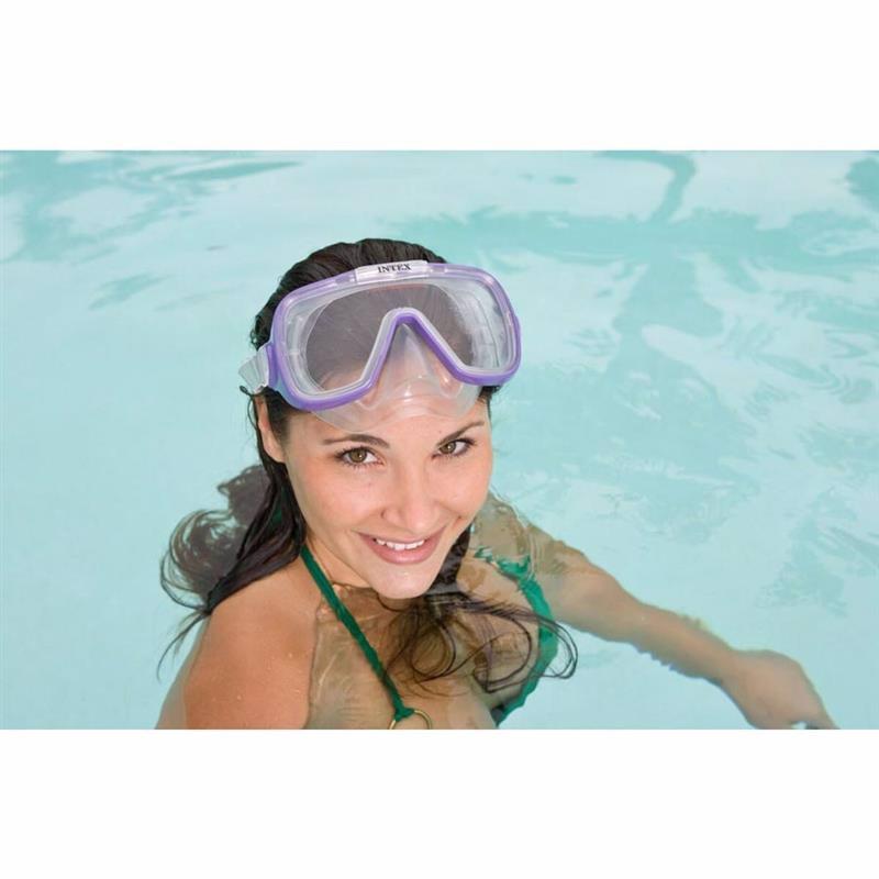 Маска для плавания Intex 55976 (Фиолетовый) Wave Rider Masks