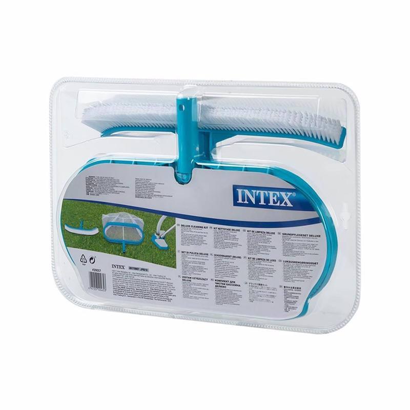 Комплект насадок Intex 29057 для чистки бассейна Deluxe Cleaning Kit (для трубки 29.8 мм)
