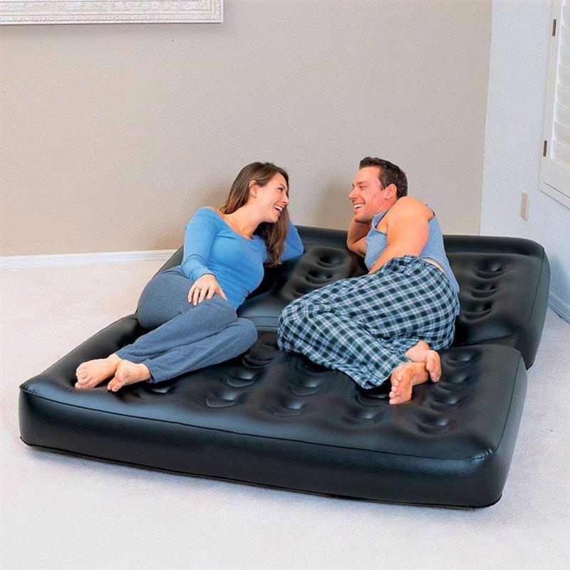 Надувной диван-трансформер Bestway 75039 (152 х 188 х 64 см) Double 5 In 1 Multifunctional Couch