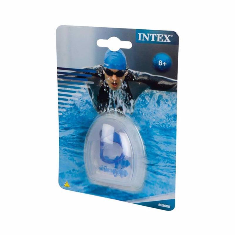 Зажим для носа и беруши Intex 55609 Ear Plugs & Nose Clip Combo Set