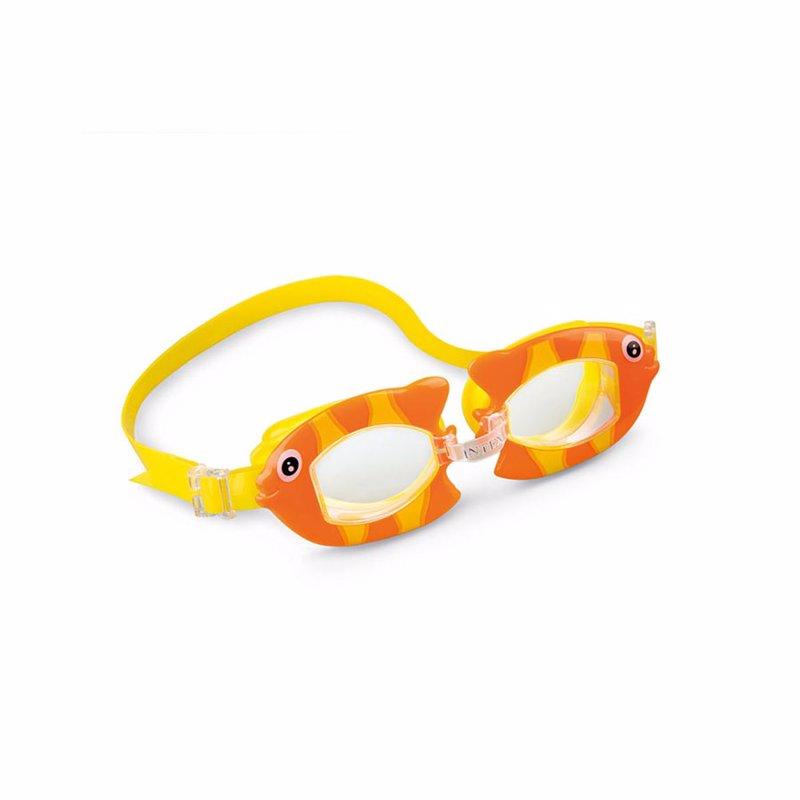 Детские очки для плавания Intex 55603 Fun Goggles (Оранжевый)