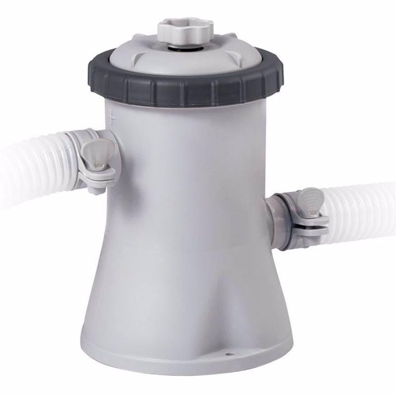 Картриджный фильтрующий насос Intex 28602 (1250 л/час) Crystal Clear Cartridge Filter Pump (для бассейнов, диаметром 244, 366 см)