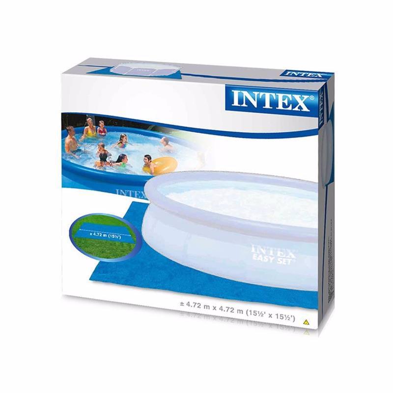 Подстилка для бассейна Intex 28048 Pool Ground Cloth (472x472 см)