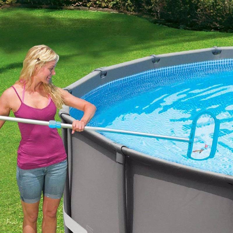 Сачок Intex 29051 для очистки дна бассейна Leaf Rake (к трубке 29.8 мм)