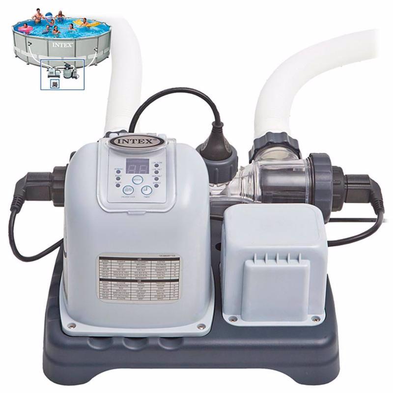 Хлоргенератор Intex 28670 (12 грамм/час) Crystal Clear Saltwater System (работает в паре с фильтр-насосом 2650-11355 л/час)