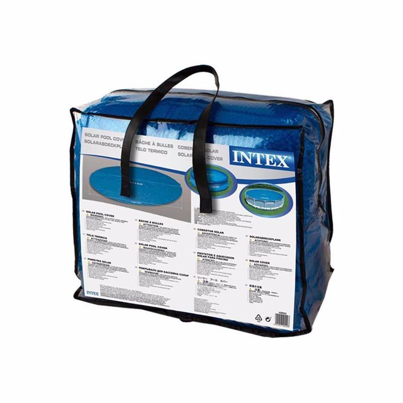 Обогревающий чехол Intex 29023 (для бассейнов, диаметром 457 см) Solar Pool Cover