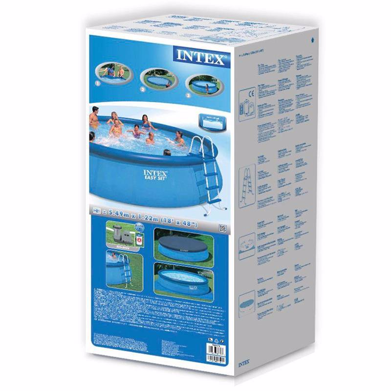 Надувной бассейн Intex 26176 Easy Set Pool (549x122 см)