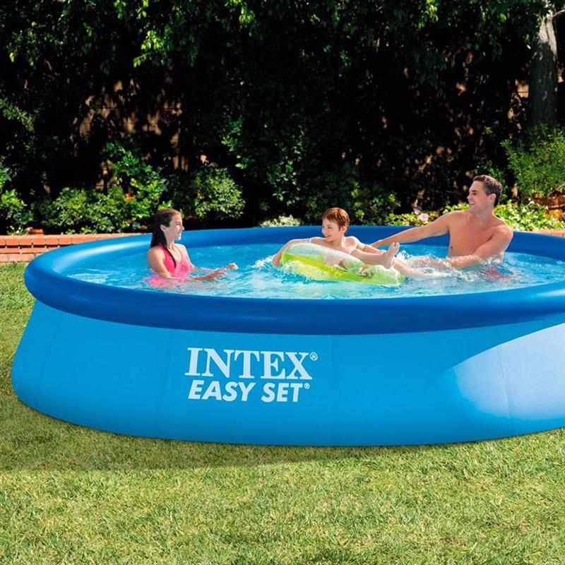 Надувной бассейн Intex 28143 Easy Set Pool (396x84 см)