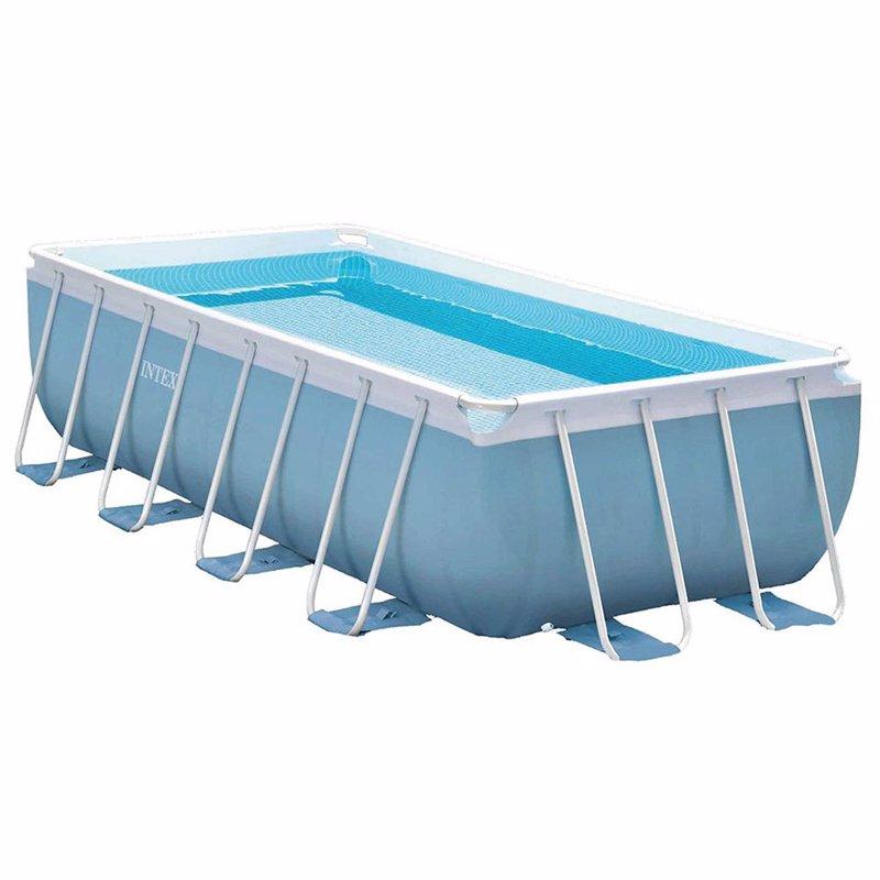 Прямоугольный каркасный бассейн Intex 28318 Prism Frame Pool (488x244x107 см)