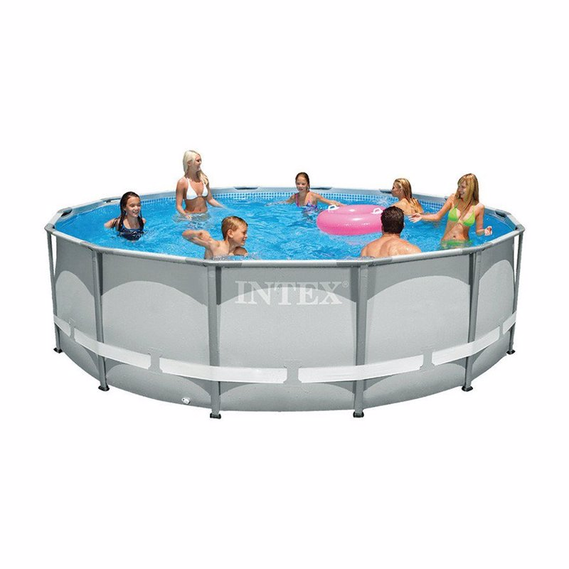 Круглый каркасный бассейн Intex 28310 (427x107 см) Ultra Frame Pool