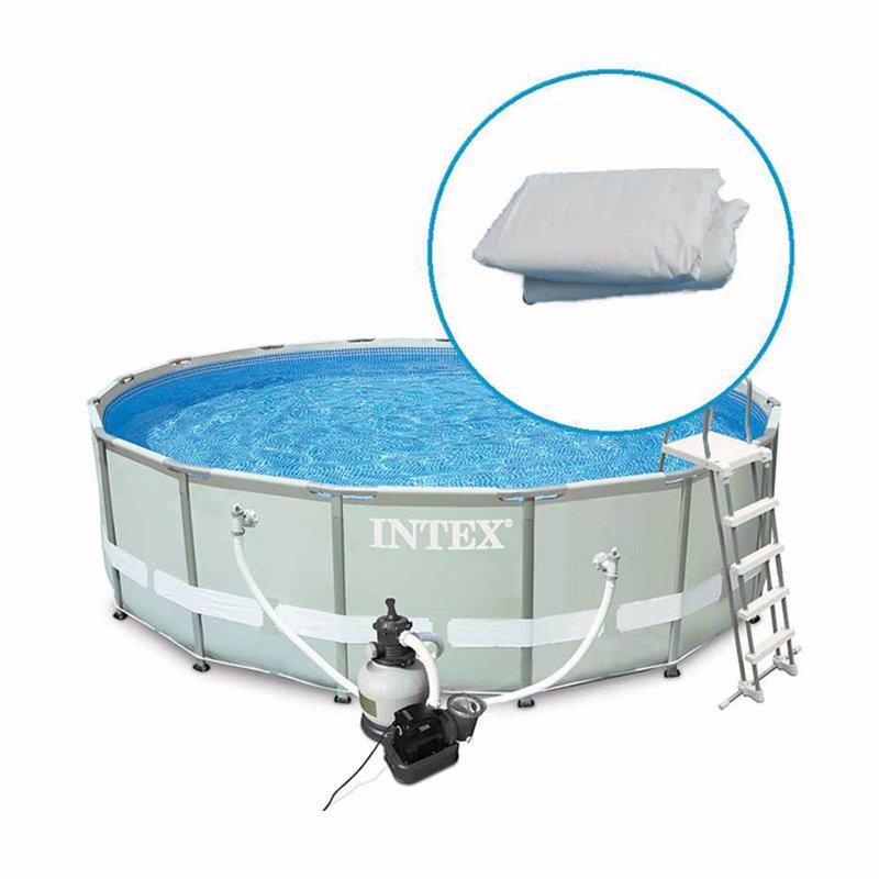 Чаша для каркасного бассейна Intex 28332, 28334 (549x132 см) Ткань Intex 10989