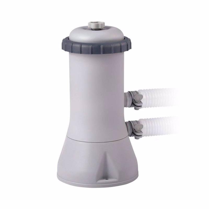 Картриджный фильтрующий насос Intex 28638 (3785 л/час) Crystal Clear Cartridge Filter Pump (для бассейнов, диаметром 427, 457 см или размером 549x305 см)