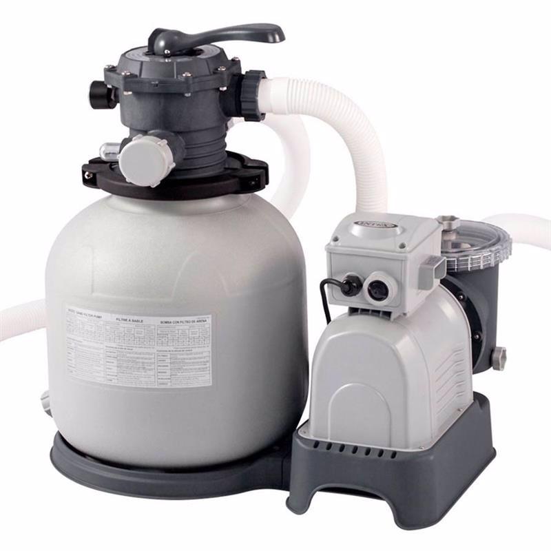 Песочный фильтрующий насос Intex 28648 (10500 л/час, 35 кг) Krystal Clear
