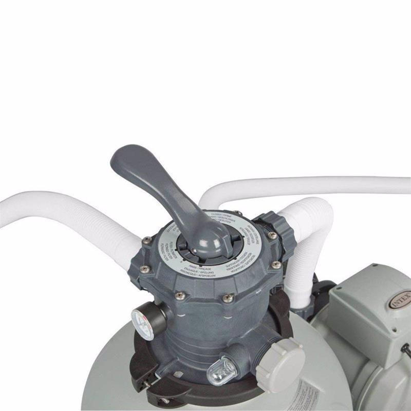Песочный фильтрующий насос Intex 28652 (12000 л/час, 55 кг) Krystal Clear