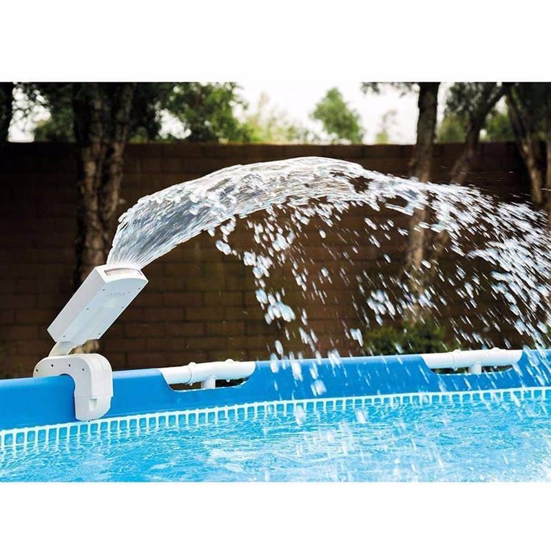 Фонтан Intex 28089 с LED подсветкой для каркасного бассейна Multi-Color LED Pool Sprayer