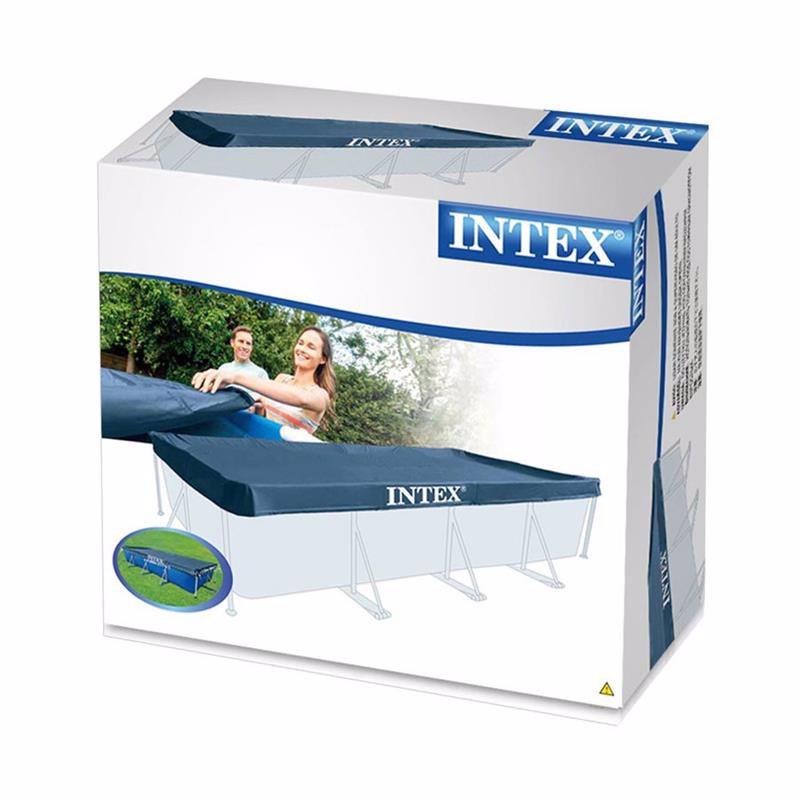 Чехол Intex 28039 (для прямоугольного каркасного бассейна, размером 460x226 см) Pool Cover