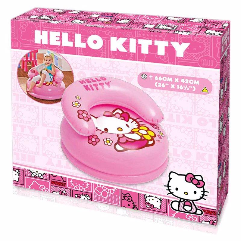 Детское надувное кресло Intex 48508 (66 x 42 см) Hello Kitty