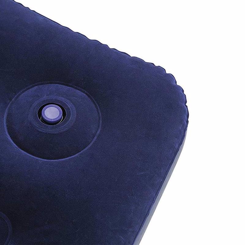Полутороспальный надувной матрас Bestway 67225 (191 x 137 x 28 см) + Встроенный ножной насос