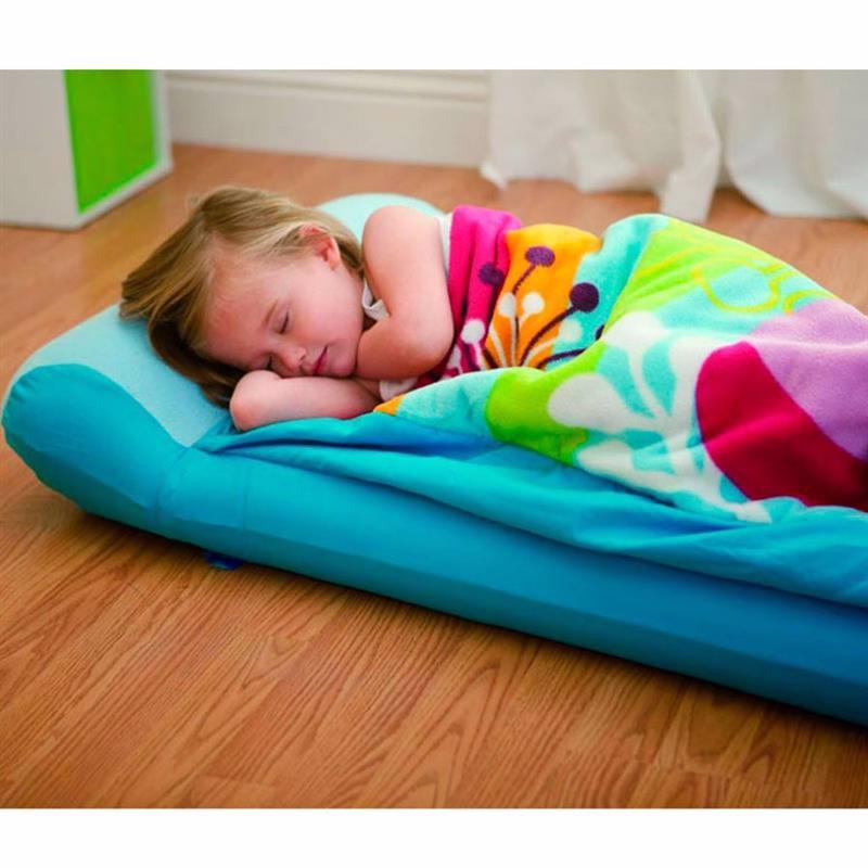 Детский надувной матрас Intex 66802 (64 x 152 x 20 см) + Ручной мини-насос