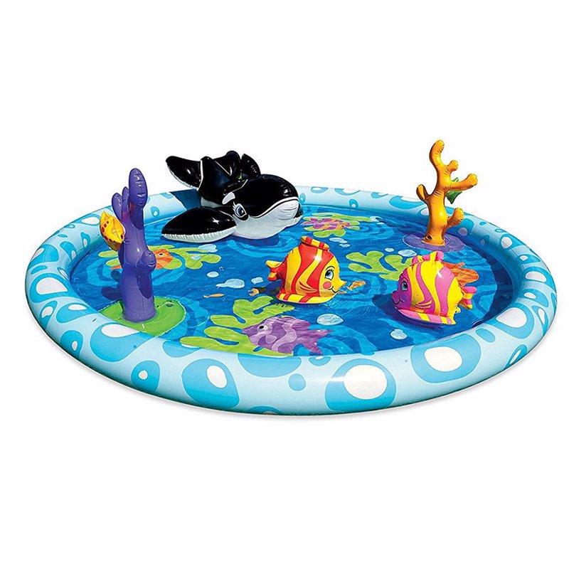 Водный надувной игровой центр Intex 57448 (196 x 51 см) Океан