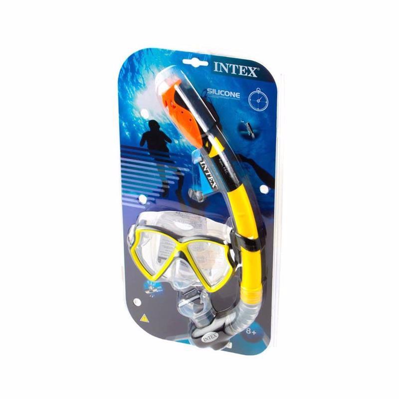 Набор для плавания Intex 55960 Slicone Aviator Pro Swim Set