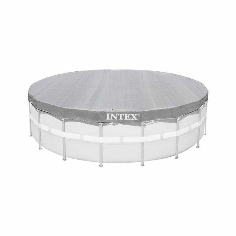 Чехол Intex 28040 (для круглого каркасного бассейна, диаметром 488 см) Deluxe Pool Cover