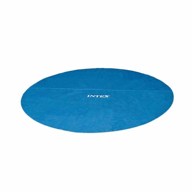 Обогревающий чехол Intex 29020 (для бассейнов, диаметром 244 см) Solar Pool Cover